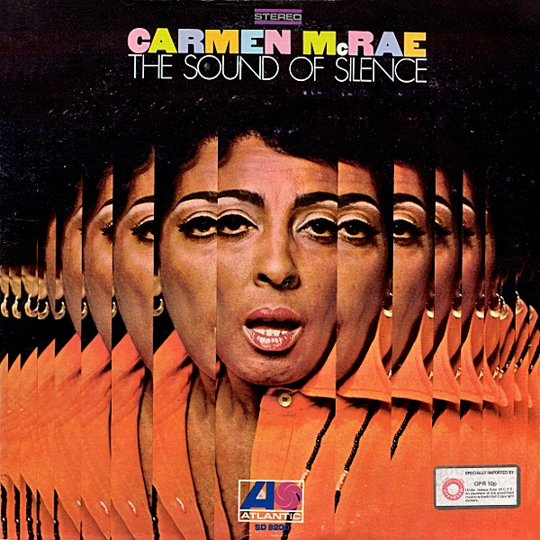 Carmen McRae The Sound of Silence Cover Art