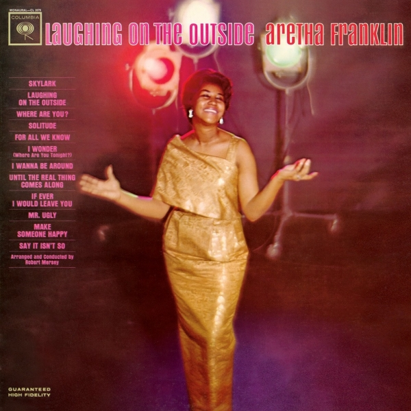 Aretha Franklin Laughing on the Outside cover art