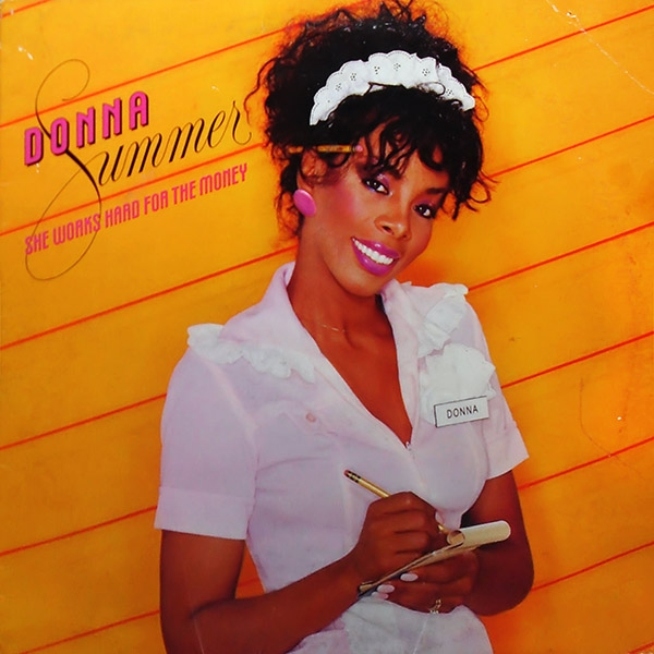 Donna Summer She Works Hard for the Money Cover Art