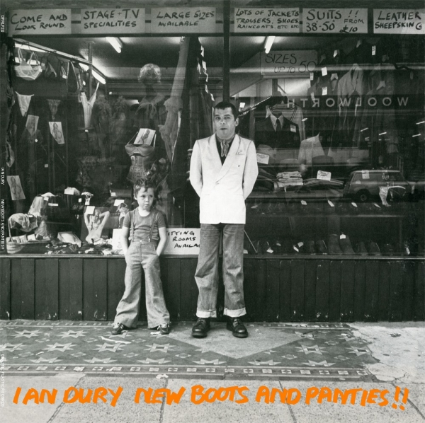 Ian Dury New Boots and Panties!! cover art