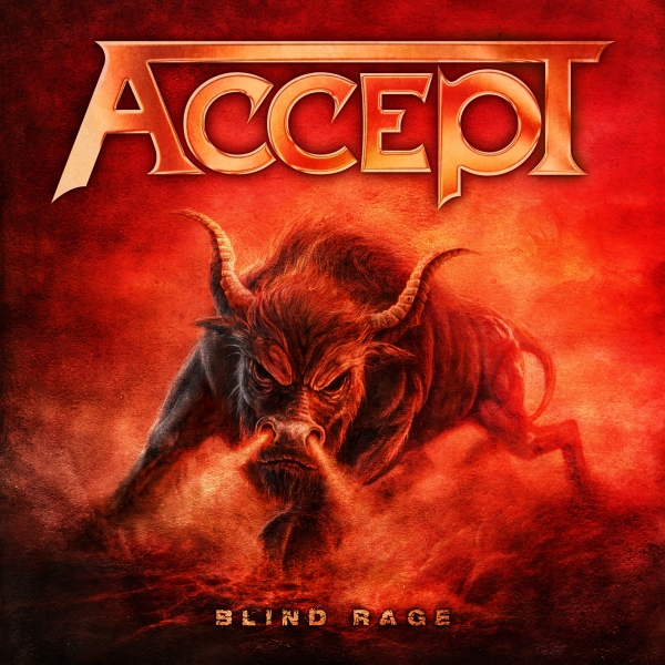 Accept Blind Rage Cover Art