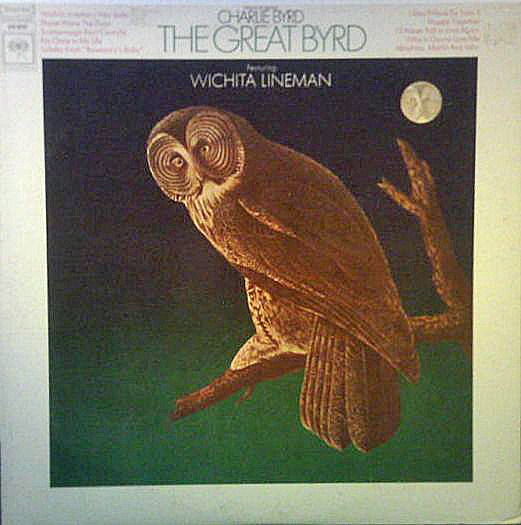 Charlie Byrd The Great Byrd Cover Art