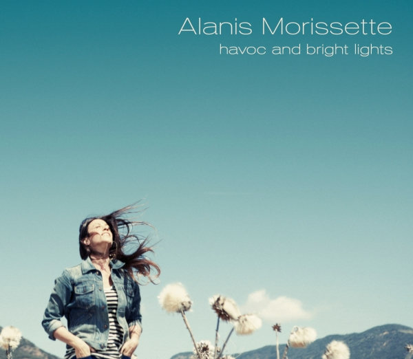 Alanis Morissette Havoc and Bright Lights cover art