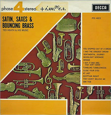 Ted Heath Satin, Strings & Bouncing Brass cover art
