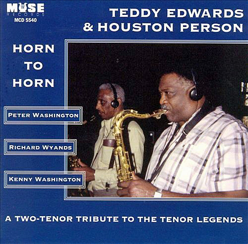 Houston Person Horn to Horn cover art