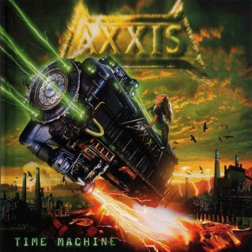 Axxis Time Machine cover art