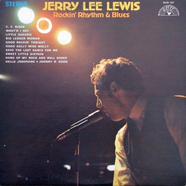 Jerry Lee Lewis Rockin' Rhythm & Blues cover art