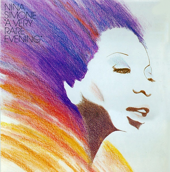 Nina Simone A Very Rare Evening cover art