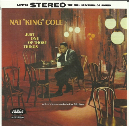 Nat King Cole Just One Of Those Things cover art