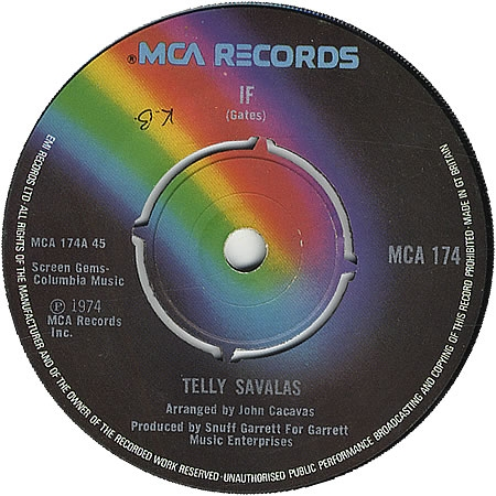 Telly Savalas If Cover Art