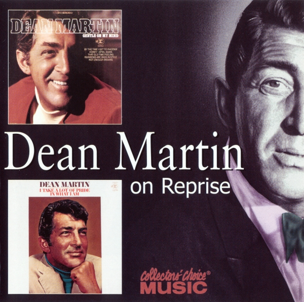 Dean Martin Gentle on My Mind / I Take a Lot of Pride in What I Am cover art