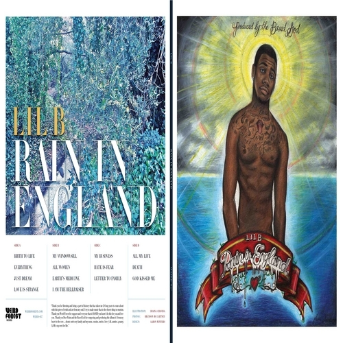 Lil B Rain in England cover art