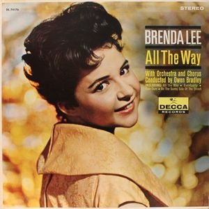 Brenda Lee All The Way cover art