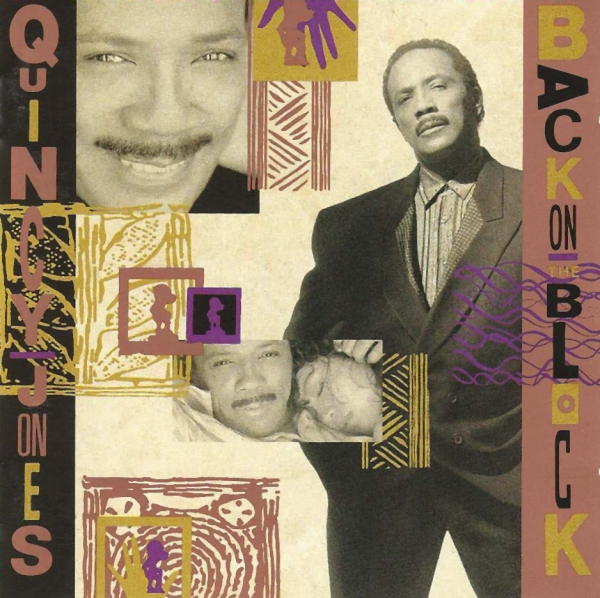 Quincy Jones Back on the Block cover art