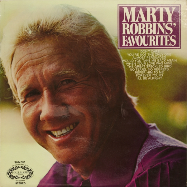 Marty Robbins Marty Robins' Favourites cover art