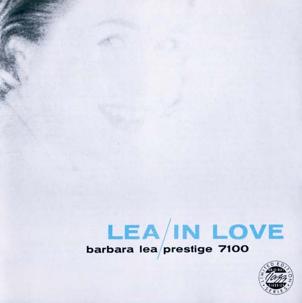 Barbara Lea Lea in Love cover art