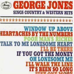 George Jones Sings Country and Western Hits cover art