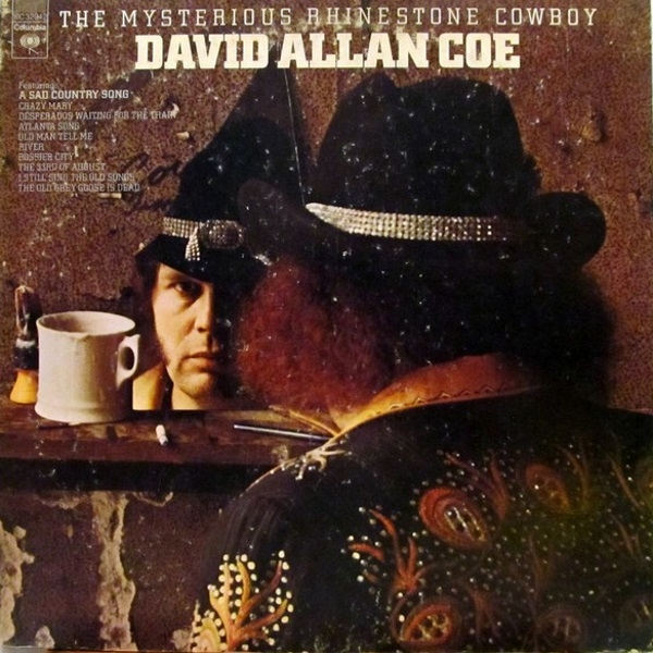 David Allan Coe The Mysterious Rhinestone Cowboy Cover Art