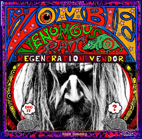 Rob Zombie Venomous Rat Regeneration Vendor cover art