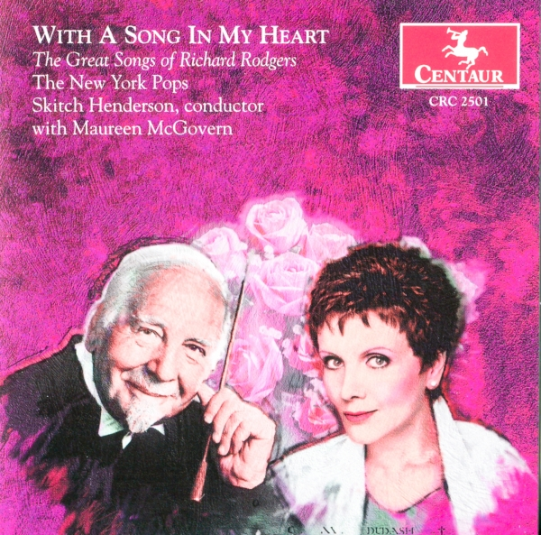Maureen McGovern With a Song in My Heart: The Great Songs of Richard Rodgers Cover Art