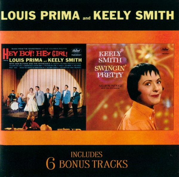 Keely Smith Hey Boy! Hey Girl! / Swingin' Pretty cover art