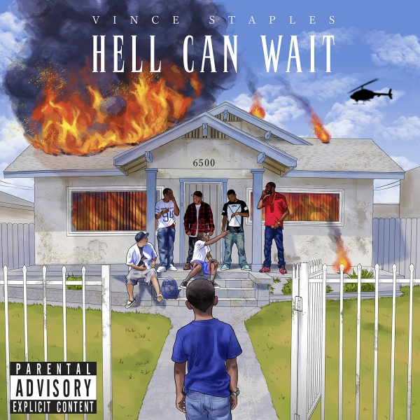 Vince Staples Hell Can Wait Cover Art