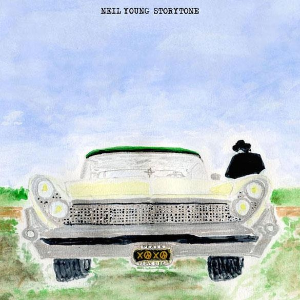 Neil Young Storytone cover art