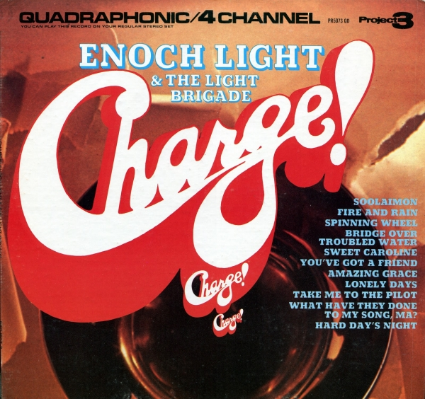 Enoch Light and the Light Brigade Charge! Cover Art