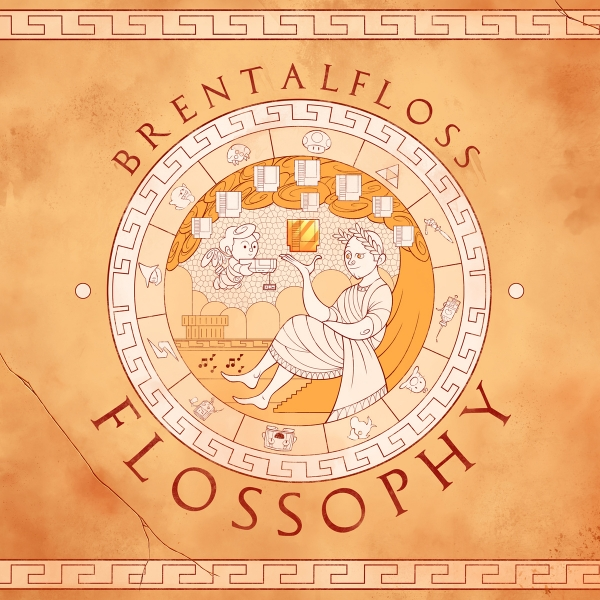 brentalfloss Flossophy Cover Art