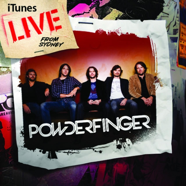 Powderfinger iTunes Live From Sydney Cover Art