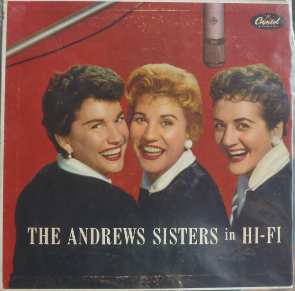 The Andrews Sisters The Andrews Sisters in Hi-Fi cover art
