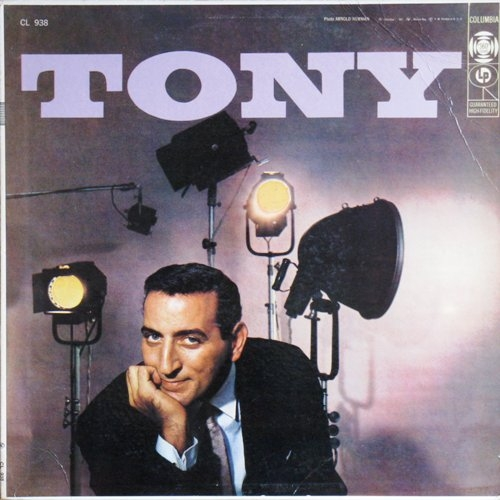 Tony Bennett Tony Cover Art