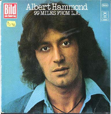 Albert Hammond 99 Miles From L.A. Cover Art