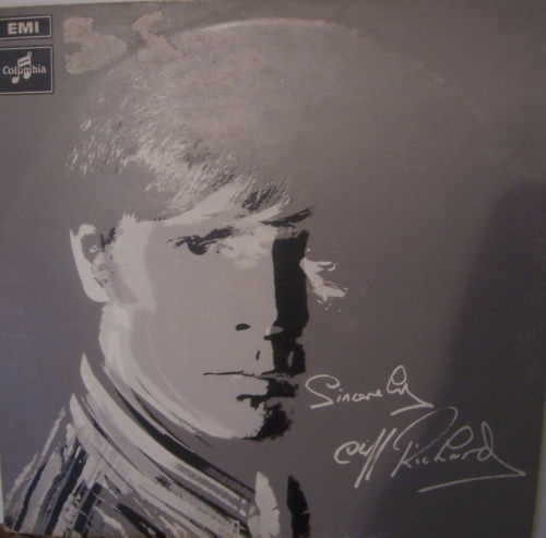 Cliff Richard Sincerely Cover Art