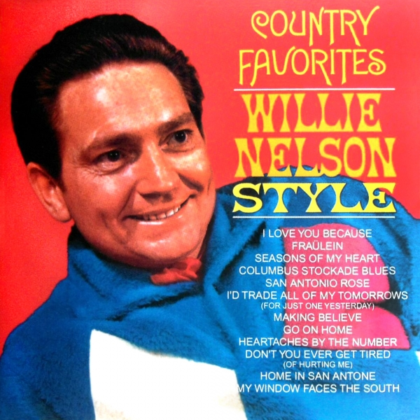 Willie Nelson Country Favorites Willie Nelson Style cover art