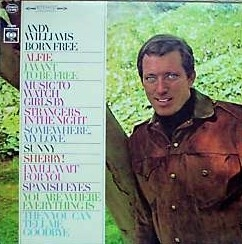 Andy Williams Born Free Cover Art