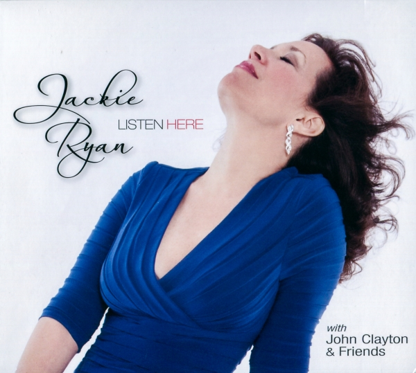 Jackie Ryan Listen Here Cover Art