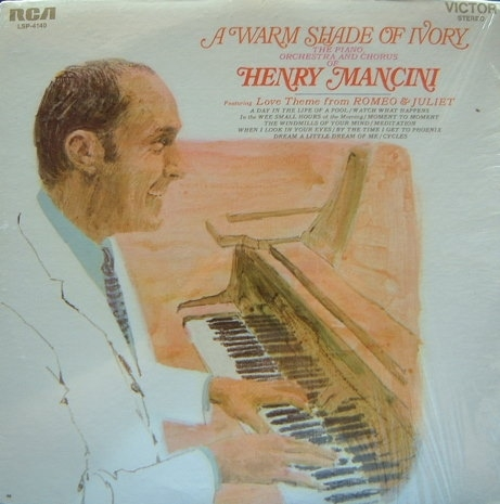 Henry Mancini A Warm Shade of Ivory cover art