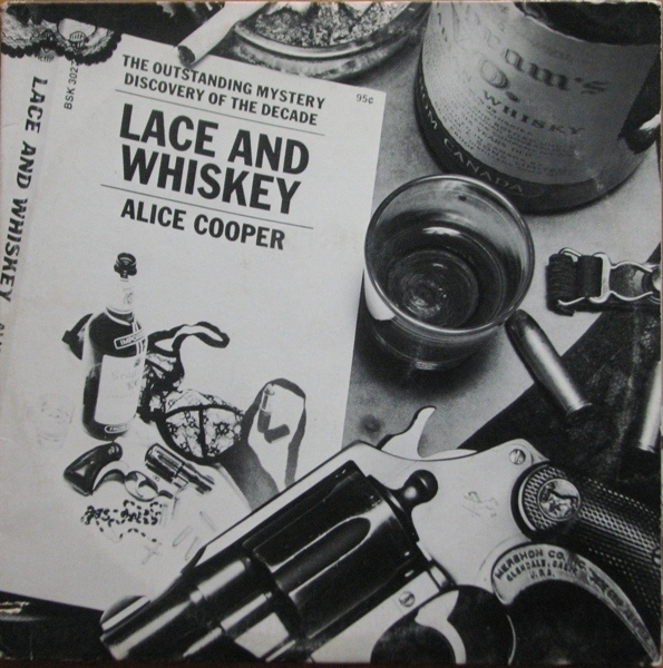 Alice Cooper Lace and Whiskey cover art