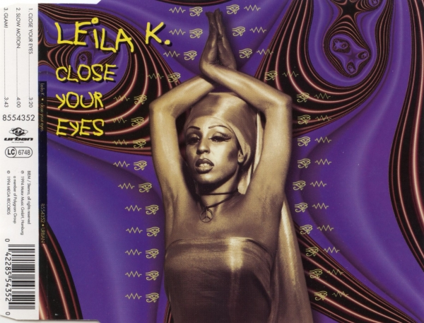 Leila K. Close Your Eyes Cover Art