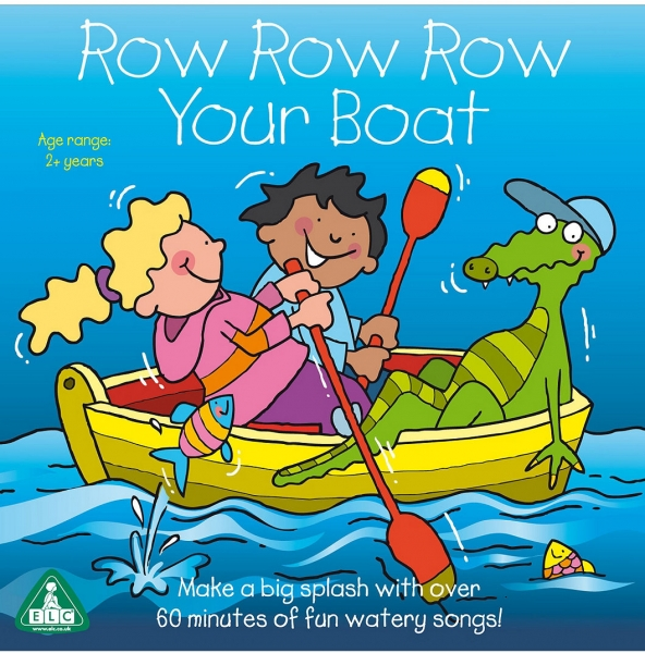 Early Learning Centre Row Row Row Your Boat Cover Art