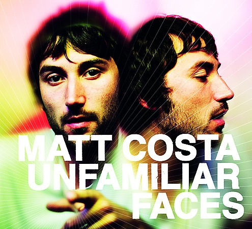 Matt Costa Unfamiliar Faces cover art