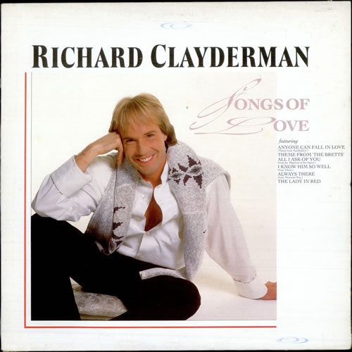 Richard Clayderman Songs of love cover art