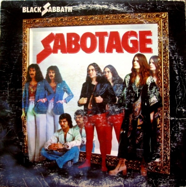 Black Sabbath Sabotage cover art