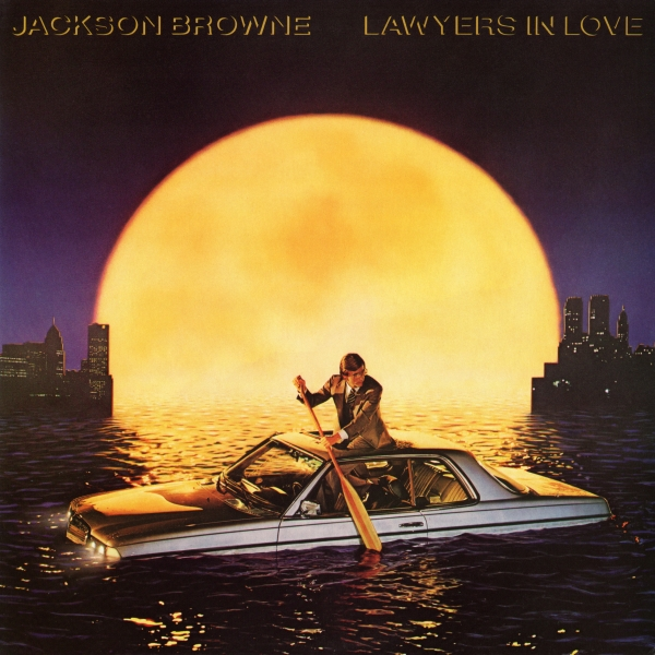Jackson Browne Lawyers in Love Cover Art