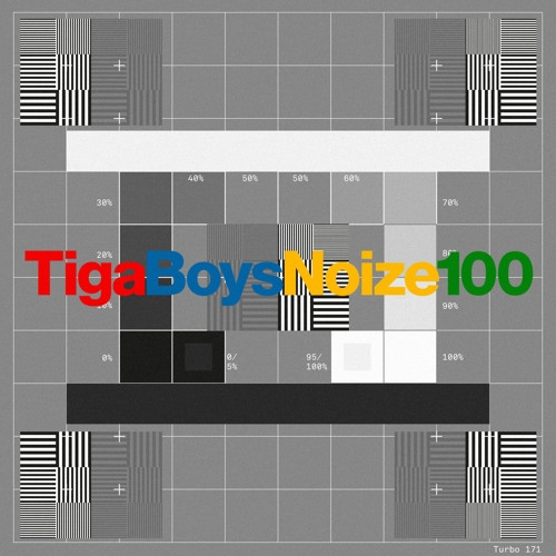 Tiga vs. Boys Noize 100 Cover Art