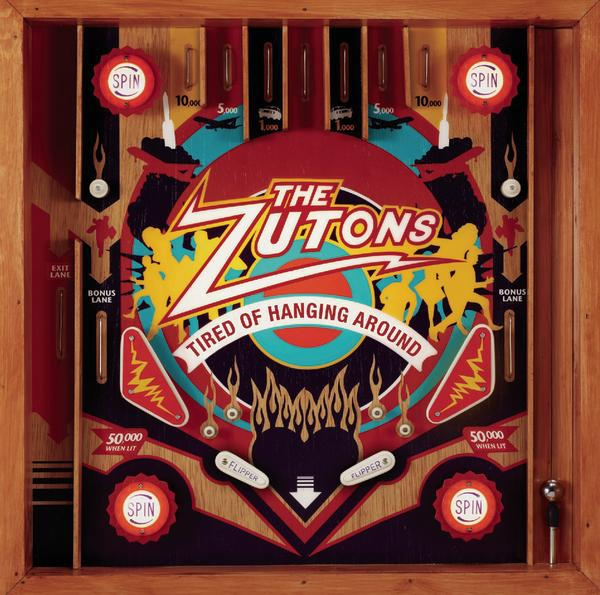 The Zutons Tired of Hanging Around cover art