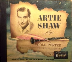 Artie Shaw and His Orchestra Artie Shaw Plays Cole Porter cover art