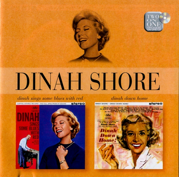 Dinah Shore Dinah Sings Some Blues with Red / Dinah, Down Home! cover art