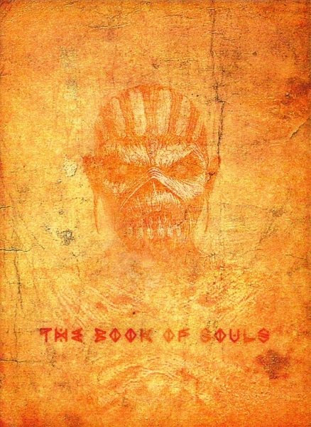 Iron Maiden The Book of Souls cover art